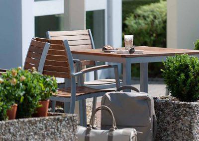Ibis Köln Frechen Terrasse